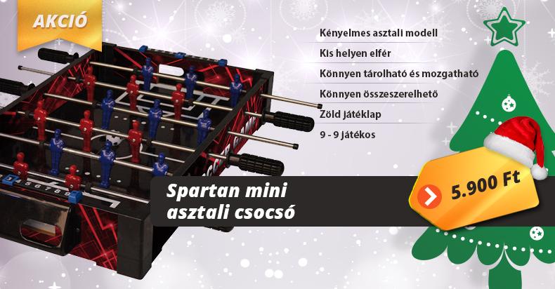 Spartan Mini asztali csocsó
