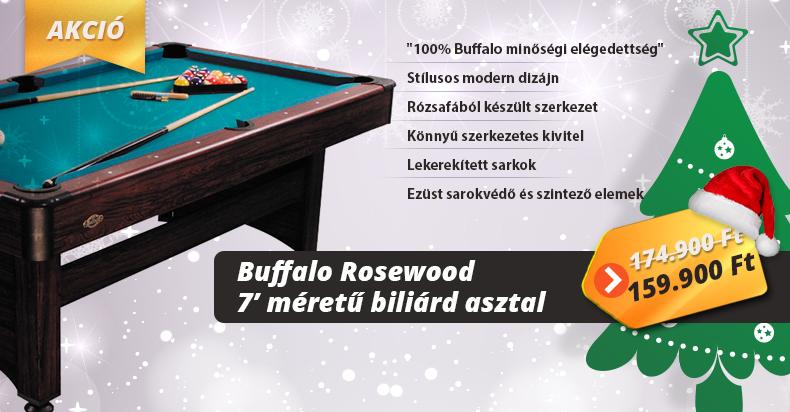 Buffalo Rosewood biliárd asztal