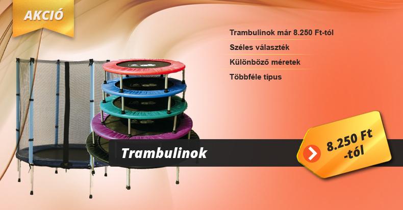 Trambulinok