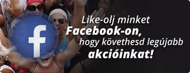 Like-olj minket Facebook-on!