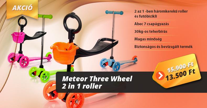 Meteor Three Wheel 2in1 roller