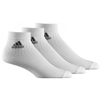 Adidas 3 pár boka zokni