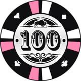 Buffalo Kerámia póker zseton 100