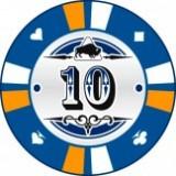 Buffalo Kerámia póker zseton 10