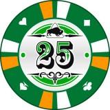 Buffalo Kerámia póker zseton 25