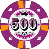 Buffalo Kerámia póker zseton 500