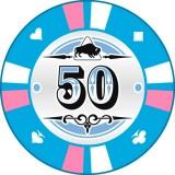 Buffalo Kerámia póker zseton 50