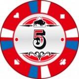 Buffalo Kerámia póker zseton 5