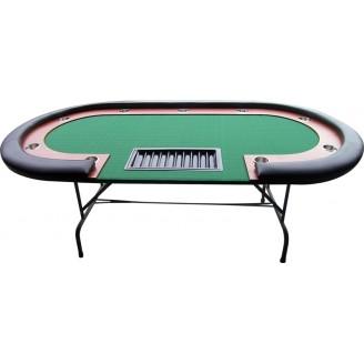Buffalo Ovális póker asztal - fekete