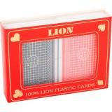 Lion Póker kártya duó box