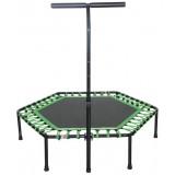 Spartan Hexagon trambulin kapaszkodóval 136cm