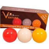 Ventura Tournament Pro karambol golyókészlet